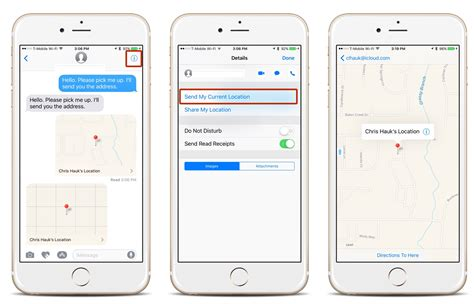 how to send on iphone how to send your current location from the iphone messages