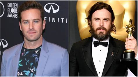 Armie Hammer Calls Out Oscars for Casey Affleck's Win ...