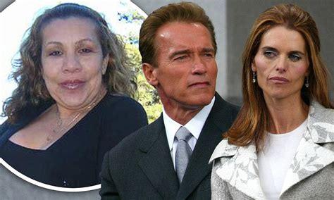 Arnold Schwarzenegger's wife Maria Shriver confronted the ...