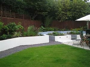 Contemporary Garden Border Ideas