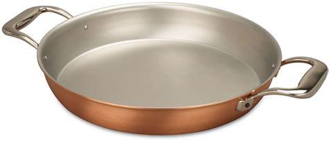 gratin pan falk signature series falk copper cookware