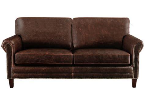 canapé et fauteuil canapé et fauteuil en cuir vieilli chocolat