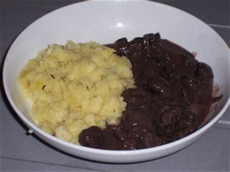 cuisiner des rognons de boeuf rognons de boeuf à l 39 échalote et au vin recette
