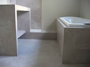 pin beton on pinterest With beton cire salle de bain