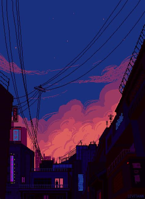 pin by sarthak on city drawings pixel background
