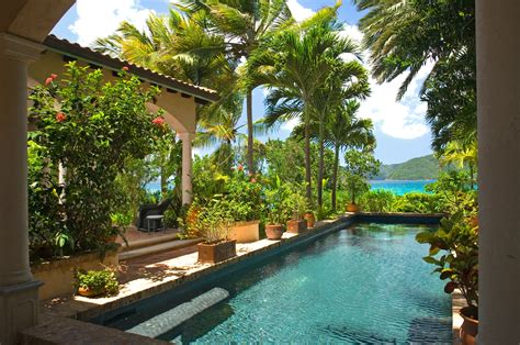 virgin islands villa vacation rentals peter bay st john