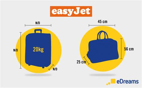 easyjet medidas de maletas  equipaje de mano