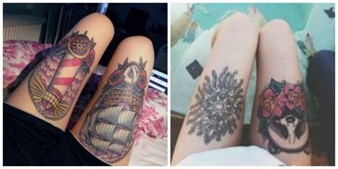 tatouage femme cuisse comment bien choisir tatouage 224 la cuisse conseils