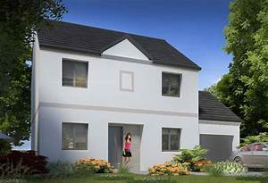 plan maison individuelle 5 chambres 100 habitat concept With modele de maison en l 5 image maison tunisienne