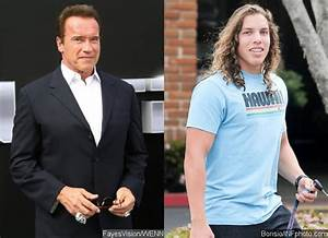 He's Very Much Like His Father! Take a Look at Arnold ...