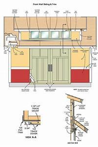 12 U00d716 Storage Shed Plans  U0026 Blueprints For Large Gable Shed