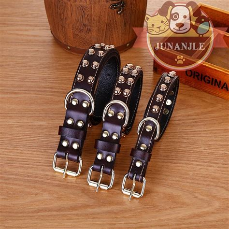Cowhide Collars by Cowhide Collar Pet Products Large Collar Dogs Leash