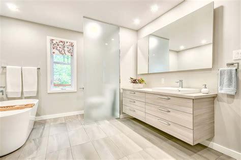 Modern Bathroom Ca by Before After Modern Bathroom Remodel Pictures Details