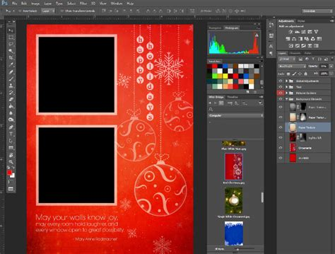 how to make a card template in photoshop 6 steps to creating custom greeting cards in photoshop