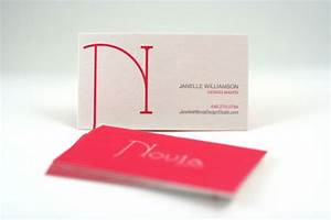 Novia 24pt business card business card design for 24pt business cards
