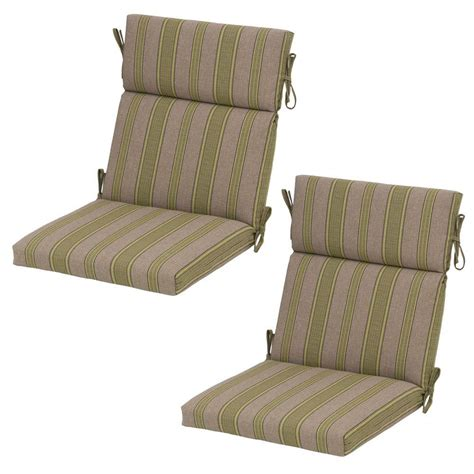 hton bay luxe stripe deluxe outdoor dining chair