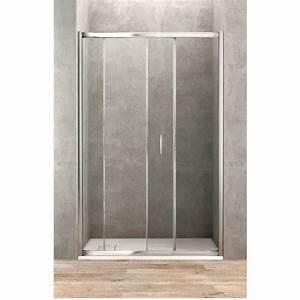 Porte De Douche 100 Cm : porte de douche coulissante de 100 cm de large banio ~ Melissatoandfro.com Idées de Décoration