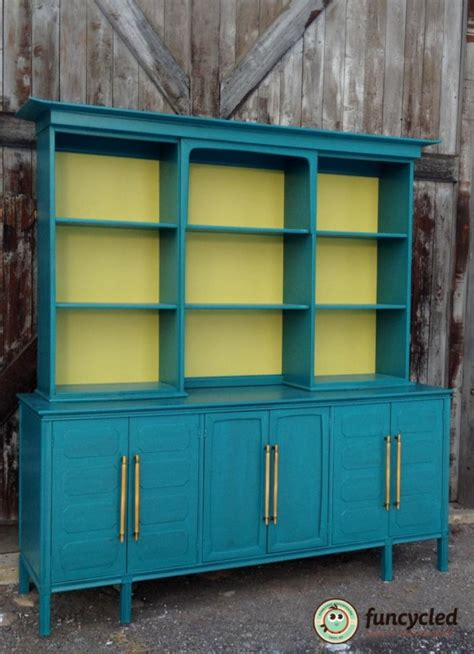 what of paint on kitchen cabinets teal mid century modern buffet funcycled 2146