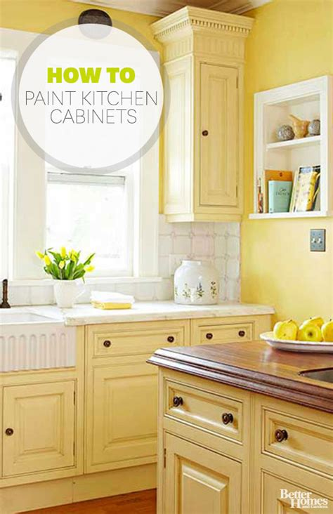 how to paint unfinished cabinets better homes and gardens how to paint kitchen cabinets
