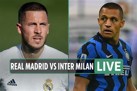 Real Madrid vs Inter Milan LIVE: Stream FREE, TV channel ...