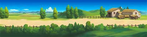 2d Game Background Resource By Painterhoya Cartoon