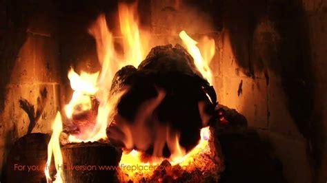 crackling fireplace screensaver fireplace crackling yule