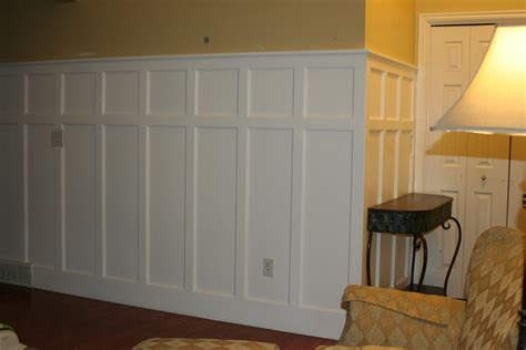 Best Adhesive For Wainscoting by Install The Plastic Basement Wall Panels Jeffsbakery