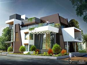 Modern Bungalow House Design India Simple House Designs ...