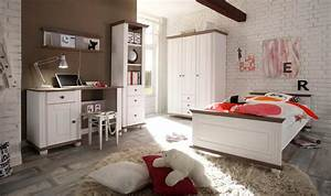 Jugendzimmer Weiß Massiv : 3 tlg jugendzimmer in kiefer massiv wei lava kaufen bei lifestyle4living m belvertrieb gmbh ~ Indierocktalk.com Haus und Dekorationen
