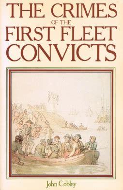crimes    fleet convicts john cobley shop