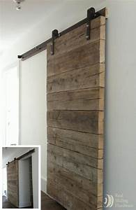 Du bois dans la salle de bain cocon deco vie nomade for Barnwood pocket door