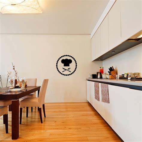 toqué 2 cuisine sticker cuisine toque et couverts stickers cuisine ustensiles ambiance sticker
