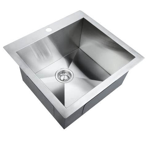 clearance kitchen sinks stainless steel kitchenlaundry sink with strainer waste 2247