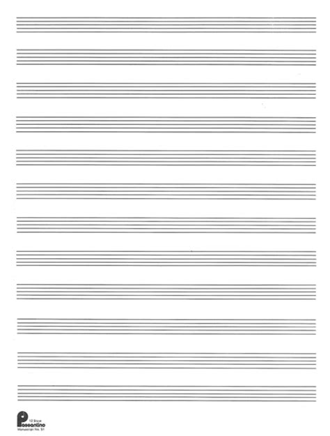 1 Manuscript Paper 12stave (formerly #51) Sheet Music. Project Proposal Form Template. Sample Of Appeal Letter For Adding Subject. Sales Description For Resumes Template. Free Birthday Party Invitation Template. Profit And Loss Statments Template. Personal And Professional Goals Examples Template. Military Cover Letter Examples Template. Mobile Friendly Email Templates