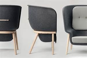 Pod Privacy chair by Benjamin Hubert