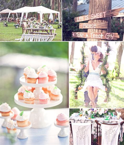 diy summer weddings tulle chantilly wedding blog