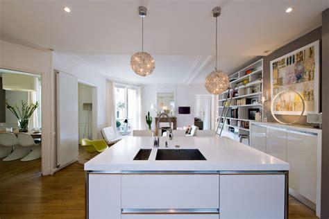 une cuisine ouverte pour intérieur design inspiration