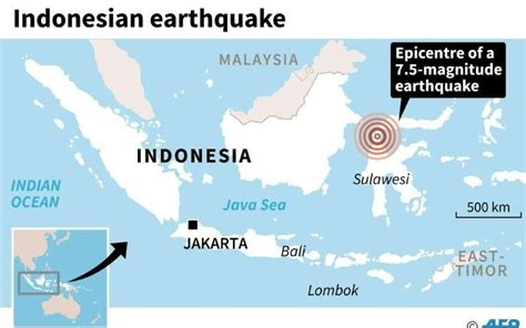 powerful quake rocks indonesia  buildings collapse