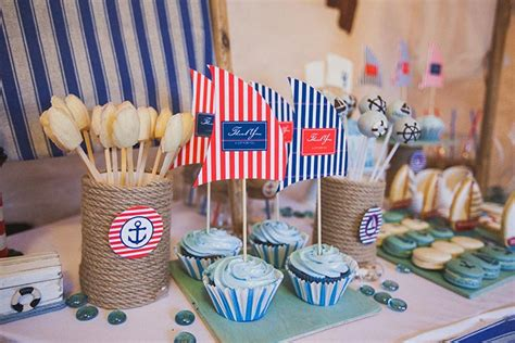 nautical baby shower cool ideas    memorable