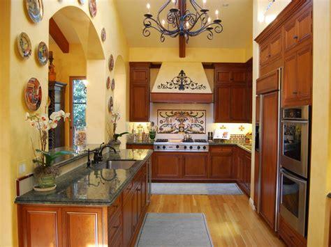 galley kitchen designs pictures ideas tips  hgtv