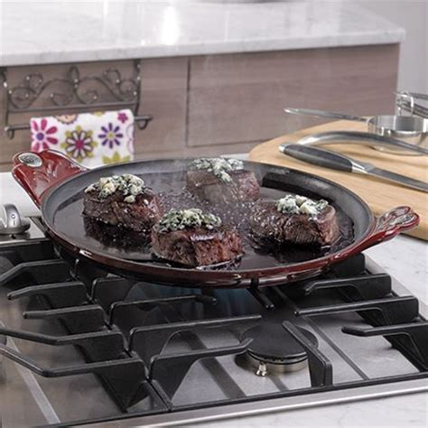 This beautiful Princess House® Cast iron Comal is ideal