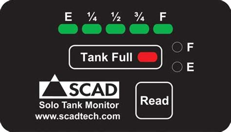 scad solo tank monitor system  marine systems