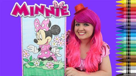coloring minnie mickey mouse clubhouse giant coloring page