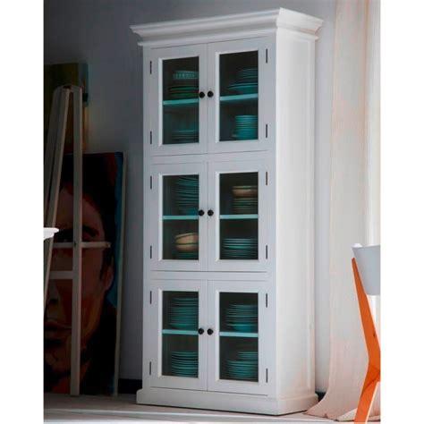 halifax white kitchen storage cabinet  door akd furniture