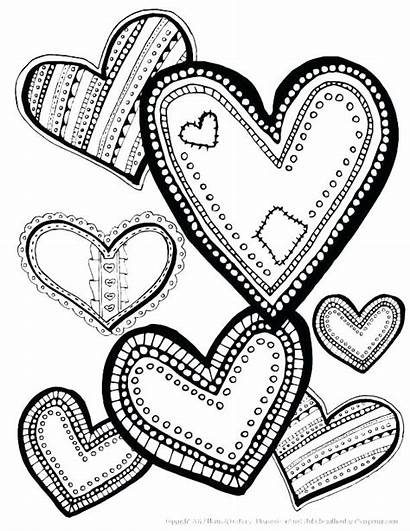 Coloring Laugh Valentine Heart Printable Kolorowanki Serce