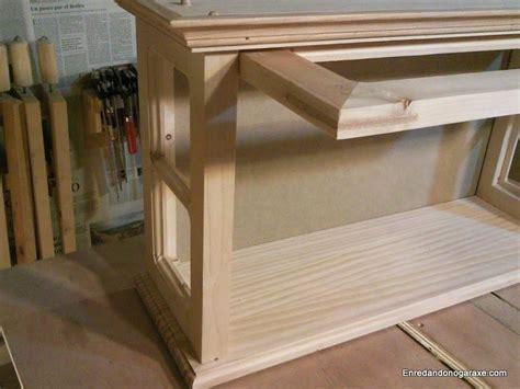 como hacer una vitrina de coleccionista de madera