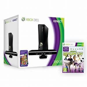 Xbox 360 Slim 250 GB Kinect Sensor Kinect Sports