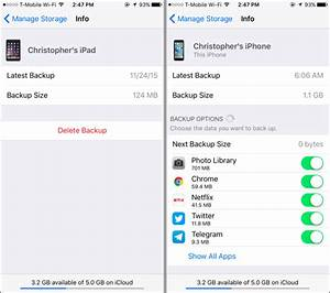 how to save space in your icloud backup and avoid paying With how do i store documents in icloud