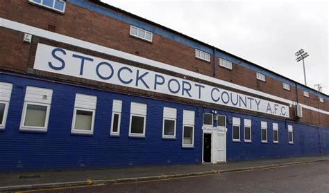 Stockport County FA Cup tie date and kick-off time ...
