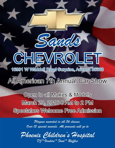 Sands Chevrolet Parts by Sands Car Show At Sands Chevrolet In